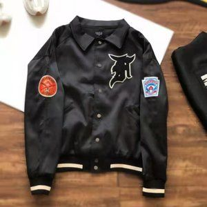 Fear of god 5th Embroidered medal jacket.